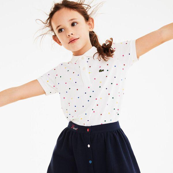 Girl's Polka Dots Polo