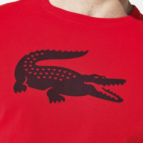 Men's Big Croc Tee, RED/NAVY BLUE, hi-res