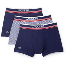 MEN'S 3 PACK COTTON TRUNKS