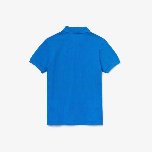 Kid's Petit Piqué Polo Shirt, NATTIER, hi-res