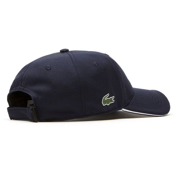 MEN'S SPORT GOLF TECH CAP, NAVY BLUE/WHITE, hi-res
