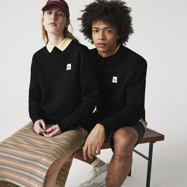 Unisex LIVE Patch Cotton Fleece Sweatshirt