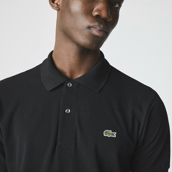 Men's L.12.12 Classic Polo, BLACK, hi-res
