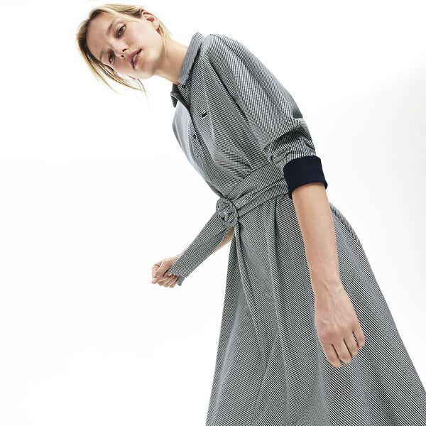 Women's Tattersalls Fitted Waist Dress