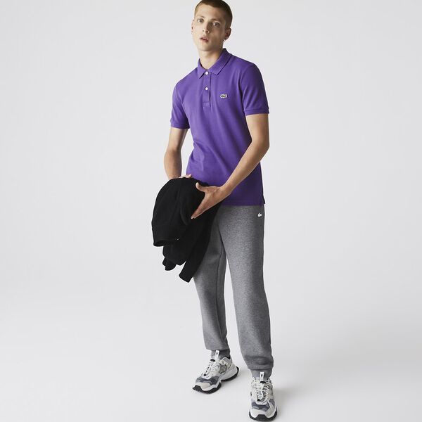 Men's Slim Fit Polo, LAVENDER, hi-res