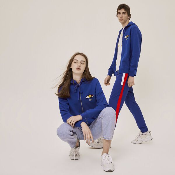 Unisex Lacoste x FriendsWithYou Design Zippered Jacket