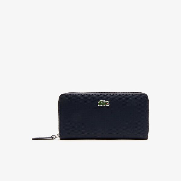 WOMEN'S L.12.12 CONCEPT LARGE ZIP WALLET