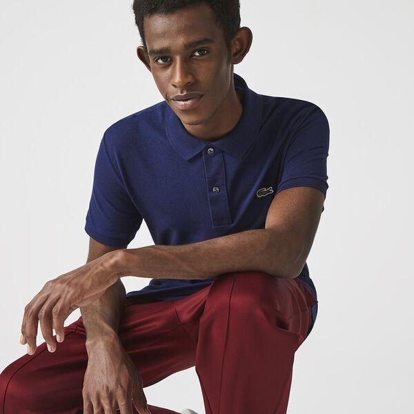 Men's Slim Fit Polo, SCILLE, hi-res