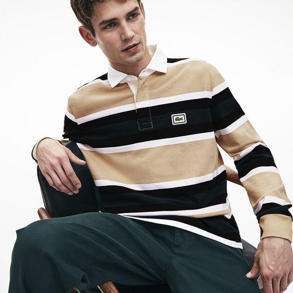 Men's 90S Sportswear Rugby Shirt, VIENNESE/WHITE-BLACK, hi-res