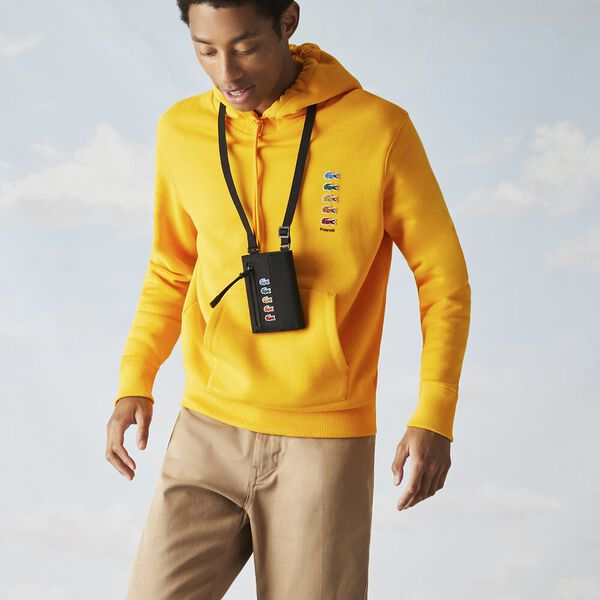 Men's Lacoste x Polaroid Neck Strap Mini Wallet Bag