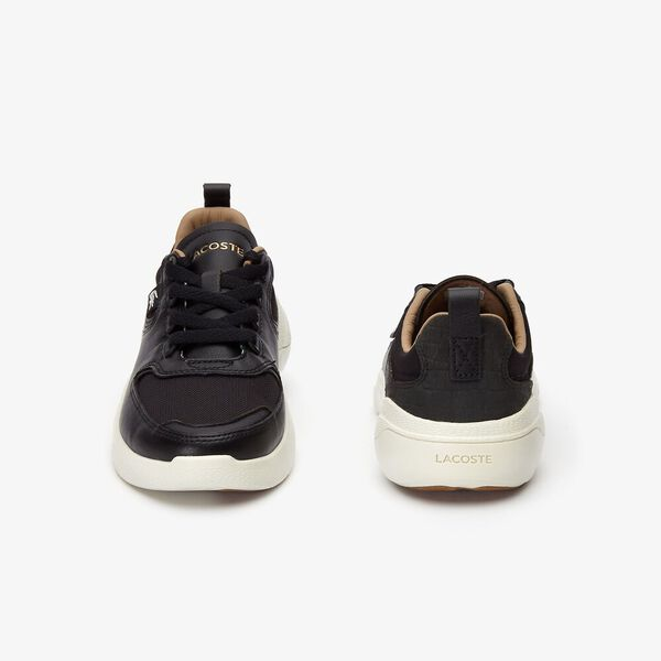 WOMEN'S WILDCARD 319 2 SNEAKER, BLACK/OFF WHITE, hi-res