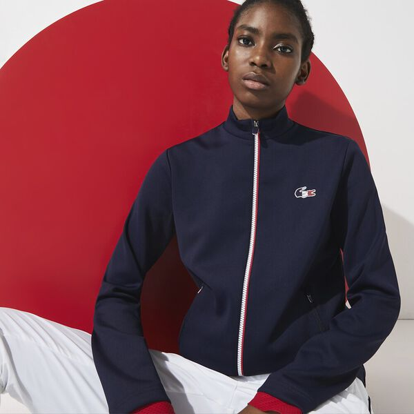 Women's SPORT French Sporting Spirit Bimaterial Zip Jacket