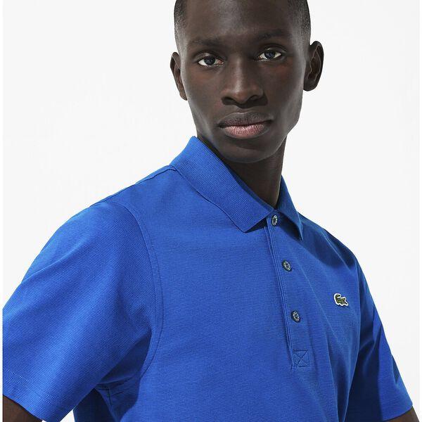 Men's SPORT Tennis regular fit Polo Shirt in ultra-lightweight knit, MARINIERE, hi-res