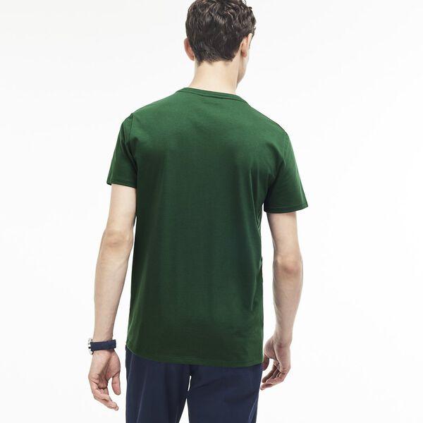 Men's Crew Neck Pima Cotton Jersey T-shirt, VERT, hi-res