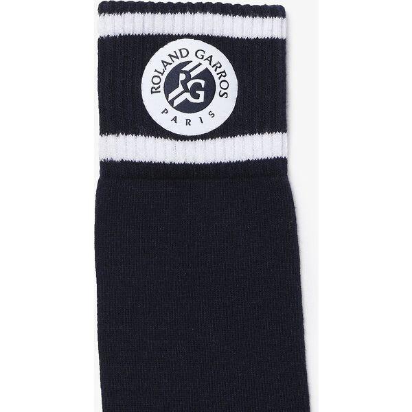 Men's SPORT French Open Edition Tennis Socks, NAVY BLUE/WHITE-WHITE, hi-res