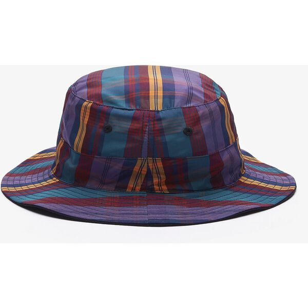 Unisex LIVE Check Bucket Hat, ACE PURPLE/MULTICO, hi-res
