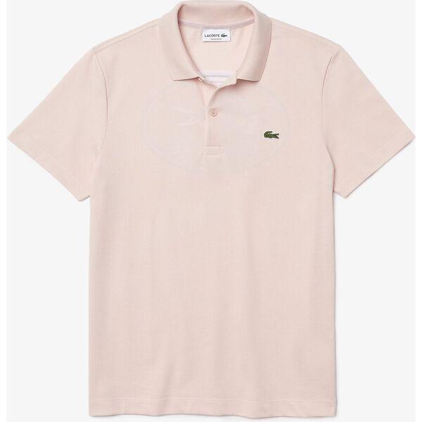 Men's Embroidered Logo Cotton Piqué Polo, NIDUS, hi-res