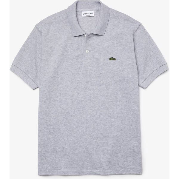 Men's Marl Classic Fit L.12.12 Polo, SILVER CHINE, hi-res