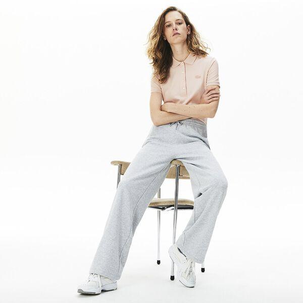 Women's Lacoste Stretch Cotton Piqué Polo Shirt, NIDUS, hi-res