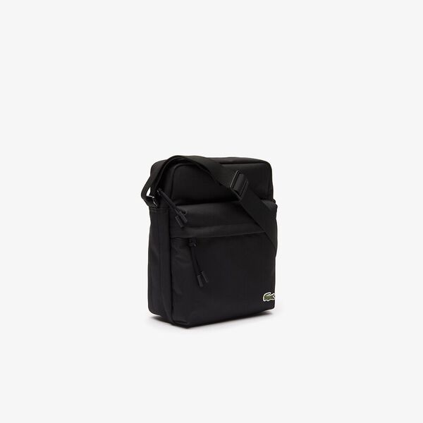 Men's Neocroc Canvas Zip Bag, BLACK, hi-res