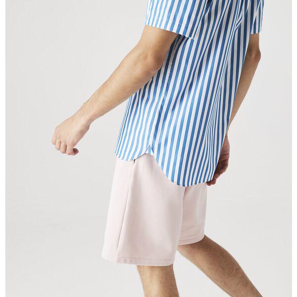 Men's Regular Fit Striped Poplin Shirt, WHITE/IBIZA, hi-res