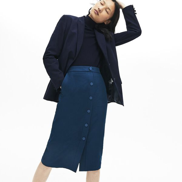 Women's Casual Elegance Cotton Skirt