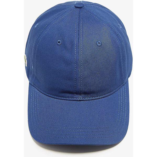 CONTRAST STRAP COTTON CAP, BLUE, hi-res