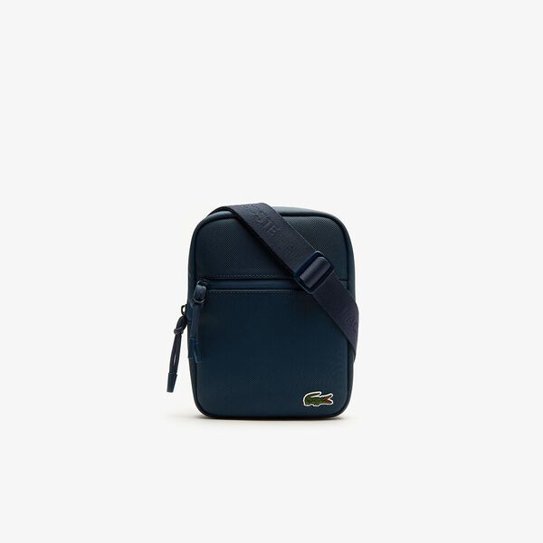 MEN'S L.12.12 SMALL FLAT CROSSOVER BAG