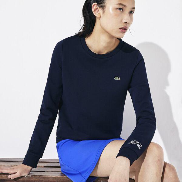 Women's Basic Crew Neck Sweatshirt, NAVY BLUE, hi-res