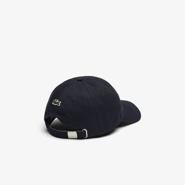 Men's Heritage Badge Cotton Cap, MARINE SOMBRE, hi-res