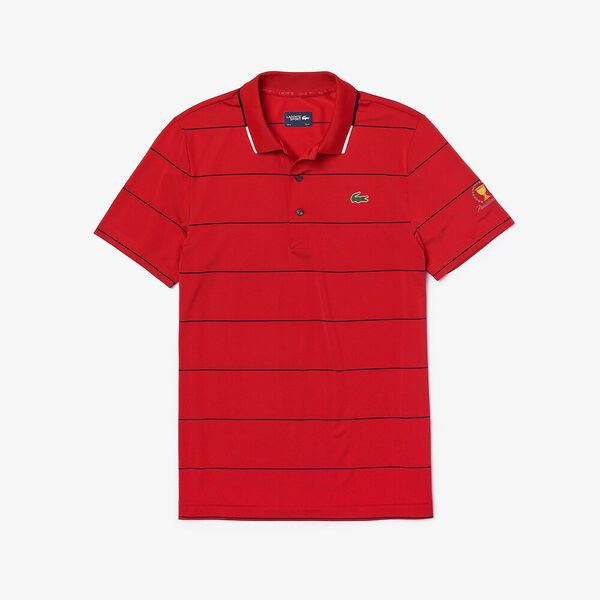 PRESIDENTS CUP STRIPED JERSEY POLO, RED/NAVY BLUE-WHITE-NAVY, hi-res
