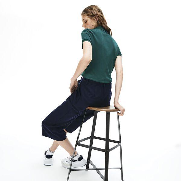 Women's 5 Button Slim Stretch Core Polo, BEECHE, hi-res