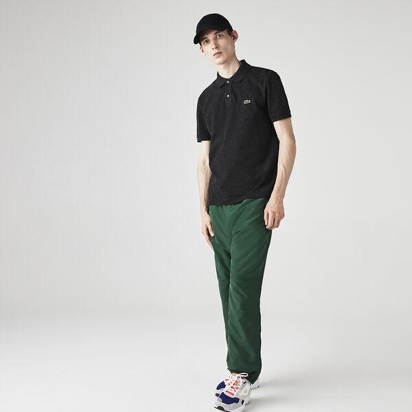 Men's Slim fit Lacoste Polo Shirt in petit piqué, LIGHTNING CHINE, hi-res