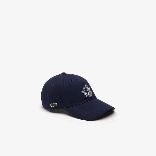 MEN'S KEITH HARING CAP, NAVY BLUE, hi-res