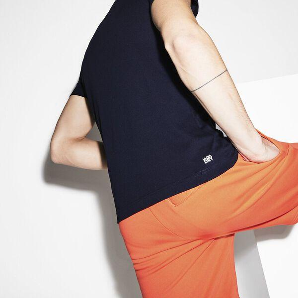 Men's BLurred Sport Print Tee, NAVY BLUE/MEXICO, hi-res