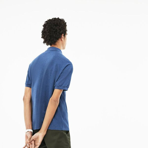 MEN'S CLASSIC FIT MARLE POLO, CRUISE CHINE, hi-res