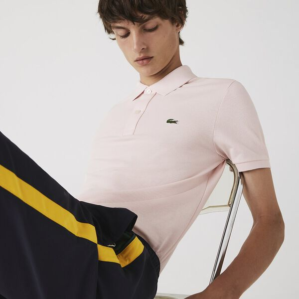 Men's Slim Fit Polo, NIDUS, hi-res