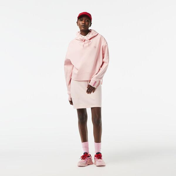 Women's Stretch Cotton Piqué Polo Dress, NIDUS, hi-res