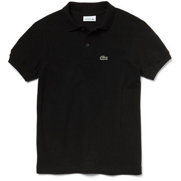 Unisex Kids Basic Polo, BLACK, hi-res