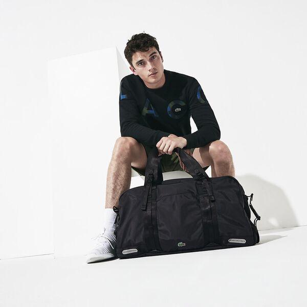 Men's Match Point Gym Bag, BLACK, hi-res