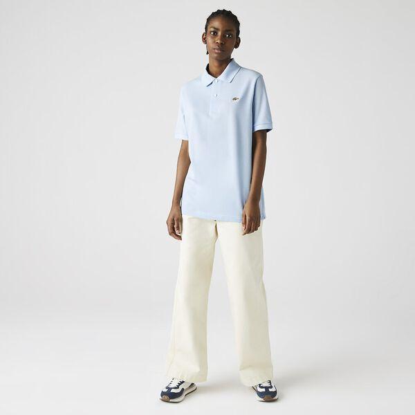 Unisex LIVE Loose Fit Cotton Piqué Polo, RILL, hi-res