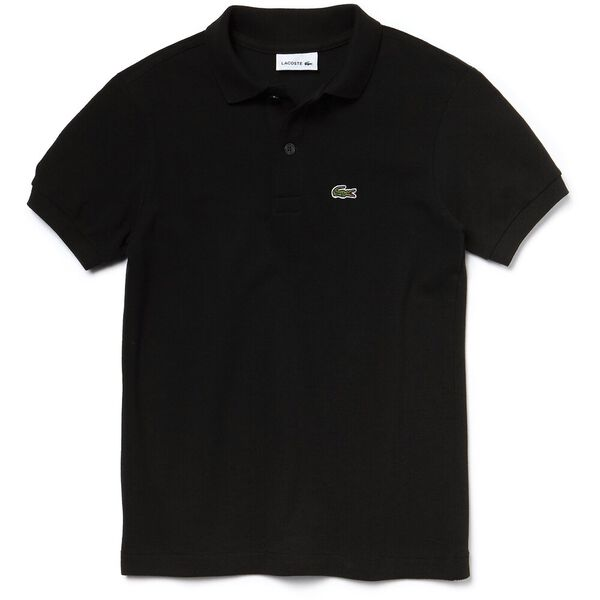 UNISEX KIDS BASIC POLO, BLACK, hi-res