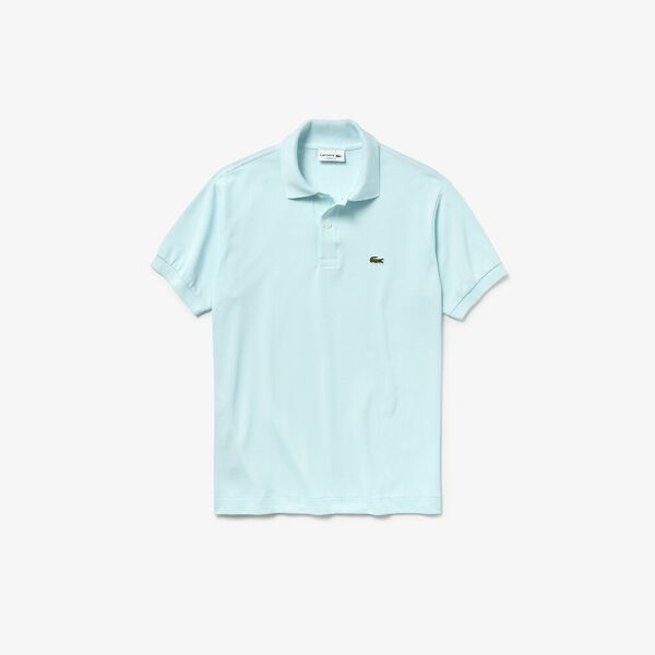 Men's L.12.12 Classic Polo, AQUARIUM, hi-res