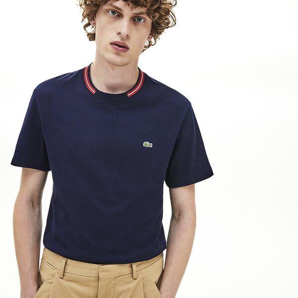Men's Classic Crew Neck Tipped Tshirt