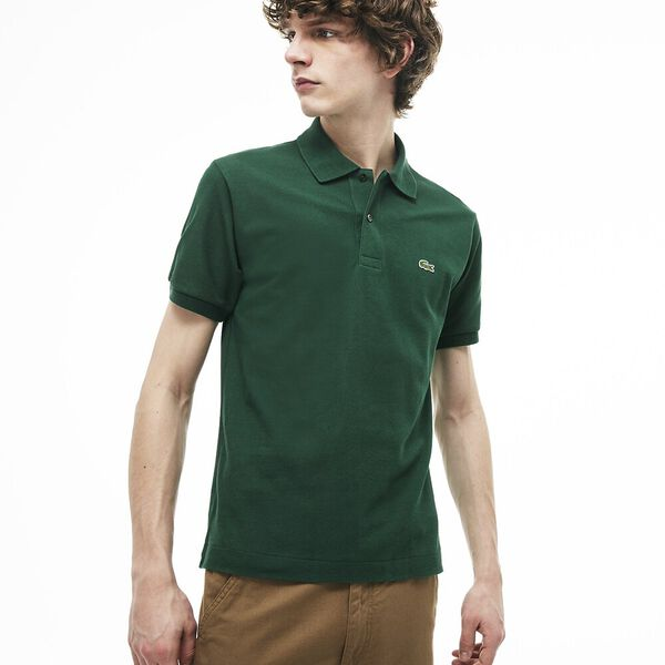Men's L.12.12 Classic Polo, GREEN, hi-res