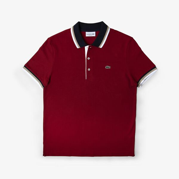 TIPPED COLLAR REG FIT POLO