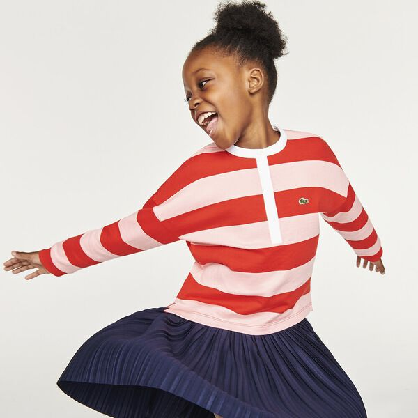 Girls' Fille Striped Polo
