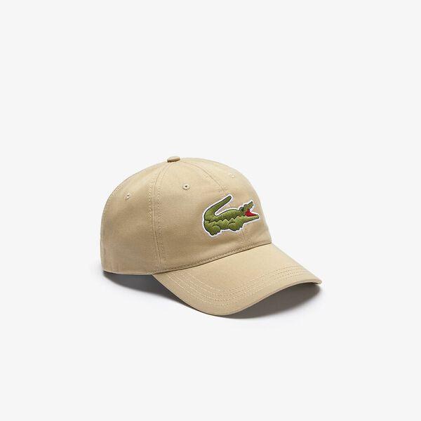 Contrast Strap And Oversized Crocodile Cap