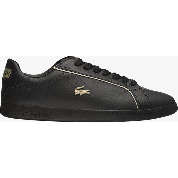 Women's Graduate Leather Metallic Detailing Sneakers