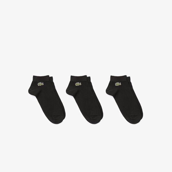 Men's Three-Pack Of SPORT Low-Cut Socks, BLACK/BLACK-BLACK, hi-res